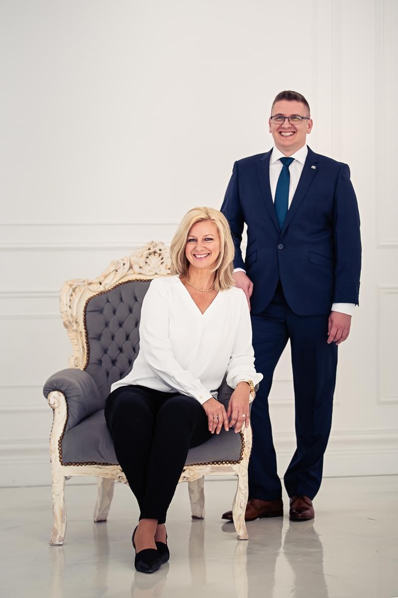 Renata Králová se synem Rudolfem